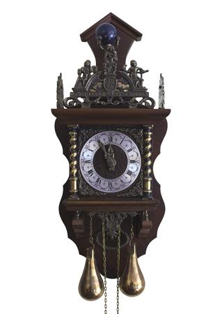 reloj de pendulo: La imagen muestra un reloj de p�ndulo Foto de archivo