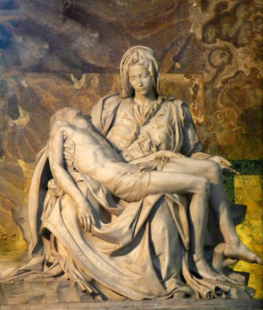 The Vatican Rome Pieta Statue photo