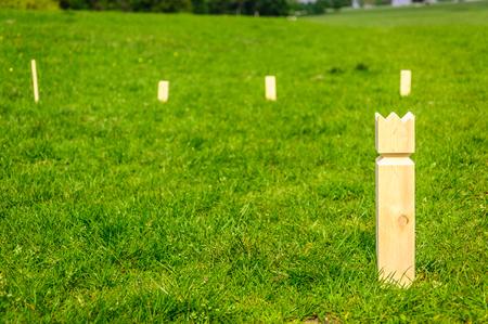 Stickey Sticks game in Dyrehaven, Denmark