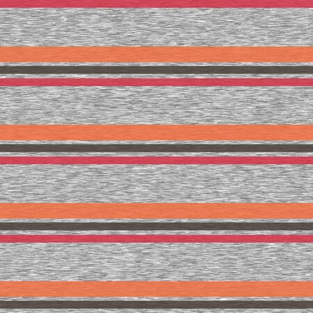 Bright Stripes Gray Marl Heather Seamless pattern