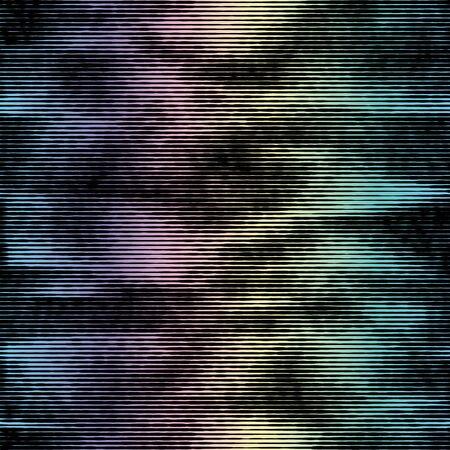 Glitter glow bleed ink seamless pattern swatch