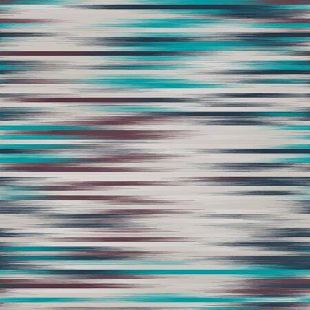 Funky streaky faded motif strips pattern swatch Ilustração