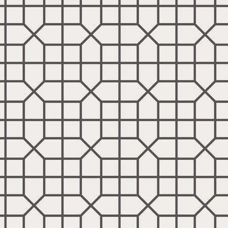 Chinese screen seamless pattern simple black white
