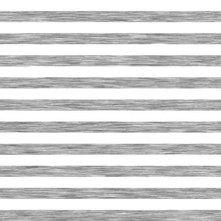 White and gray heather marl melange stripe pattern