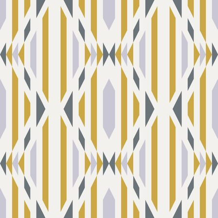 Seamless kilim geo tribal rug design. Chic contemporary graphic motif. Geometric pattern repeat vector swatch.