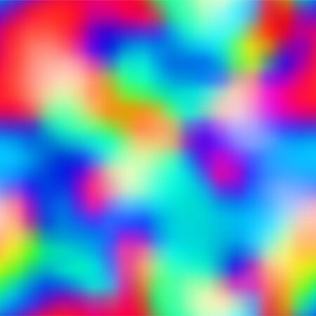Ombre bright saturated neon pop blurry pattern