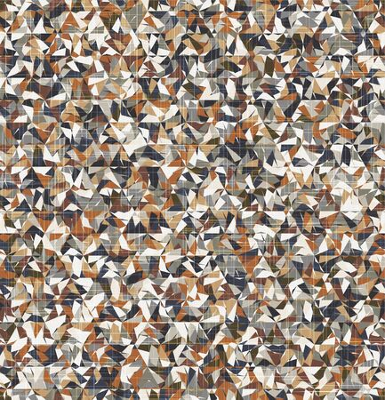 Neutral random tiling geo graphic texture motif Vektorové ilustrace