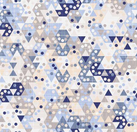 Pastel hexagon tiling geo graphic texture motif