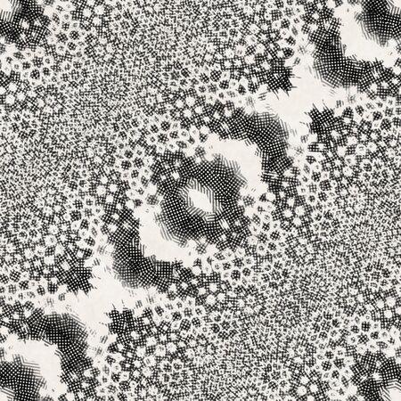 Intricate ornate hand drawn noisy mottled motif Archivio Fotografico