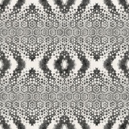 Intricate ornate hand drawn noisy mottled motif