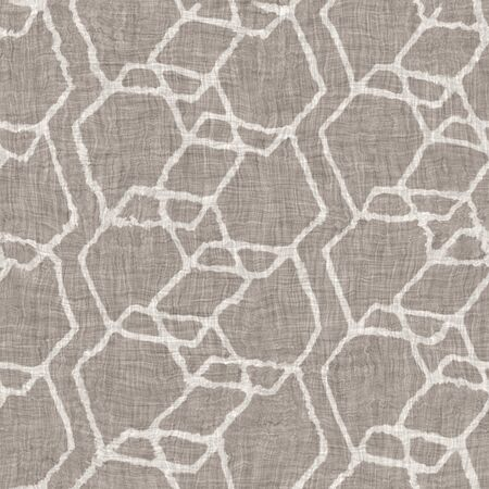 Ragged worn aging beige canvas burlap pattern tile