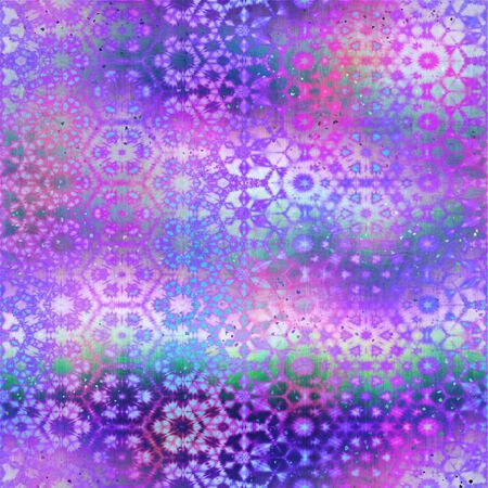 Surreal ombre blend digital pattern overlay swatch