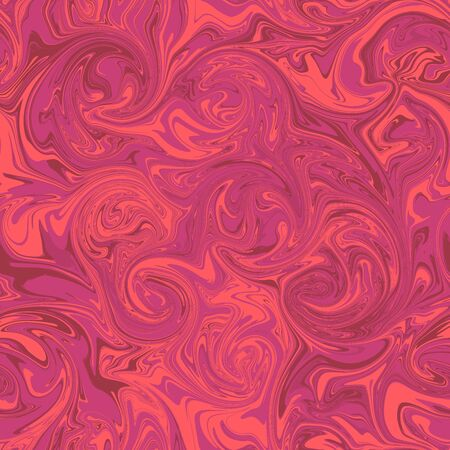 Marbled Seamless Repeat Pattern Pink, Coral, Red Imagens