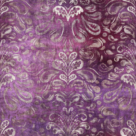 Seamless abstract pattern texture in tyrian purple