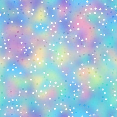 Vivid holographic foil rainbow neon seamless tile