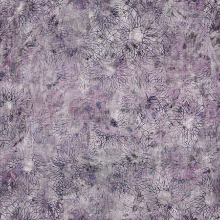 Dark moody purple and green seamless pattern Reklamní fotografie