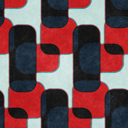 Red and navy textured urban seamless pattern 版權商用圖片
