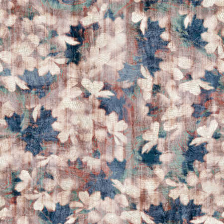 Seamless old aged tapestry rug kilim pattern Stockfoto