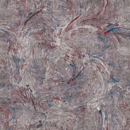Seamless red white and blue textured retro pattern 版權商用圖片