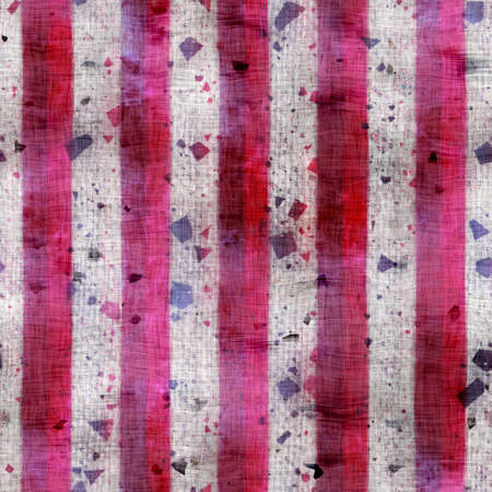 Fancy ornate fuchsia stripe seamless pattern for print