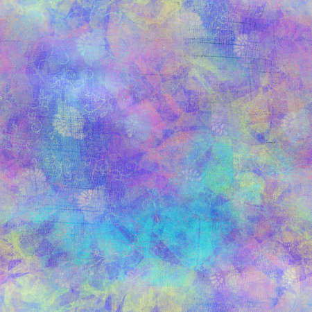 Seamless iridescent rainbow light pattern for print