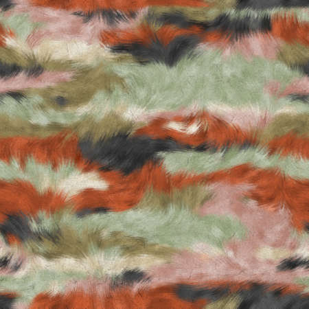 Seamless faux digital paint stroke camo print 版權商用圖片