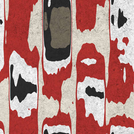 Seamless funky grungy pattern motif for print Stockfoto