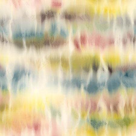 Seamless tie dye stripe pattern for fashion print