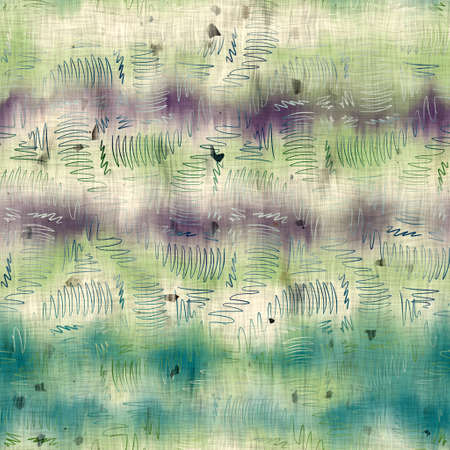 Seamless batik surface pattern swatch for print in cool pastel colors