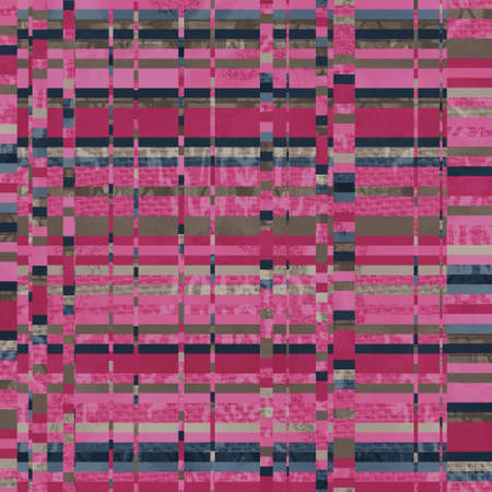 Seamless funky graphic pattern motif of chaotic and psychedelic noise