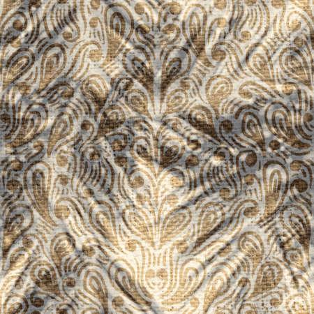 Seamless abstract print of botanical leaf shadows 版權商用圖片