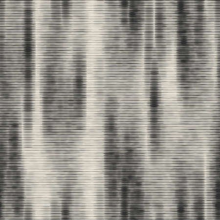 Seamless monochrome urban degrade striped effect in vector repeat graphic motif for print