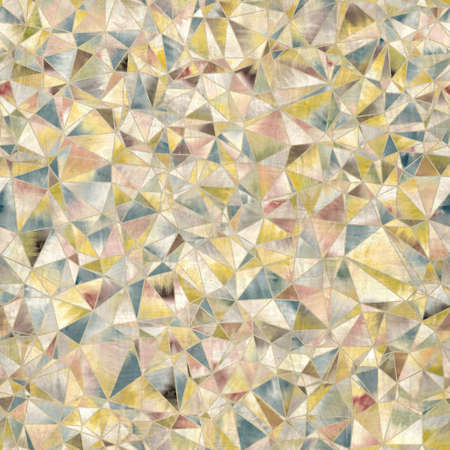 Seamless random triangle pattern for surface pattern and print