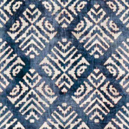 Seamless damask flourish motif Victorian style surface pattern design for print