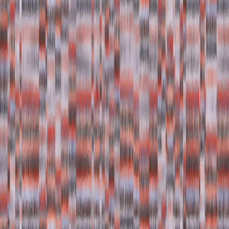 Seamless blurred ombre fuzzy techno glitch error pattern for surface design and print Illustration