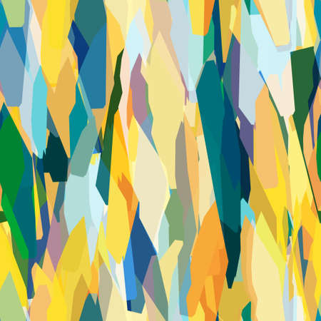 Seamless funky expressive and energetic paper cut out collage surface pattern design for print