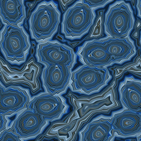 Seamless banded agate geode marble rock surface pattern design for print