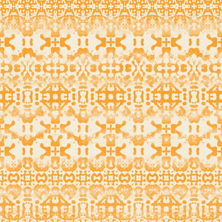 Seamless two toned distressed rug or textile surface pattern design for print.