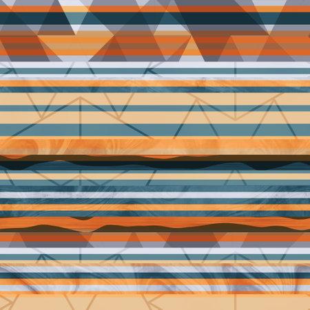 Seamless hip vogue random trendy stripe pattern print Standard-Bild