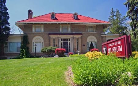 memorabilia: Elwood Haynes Museum in Kokomo, Indiana
