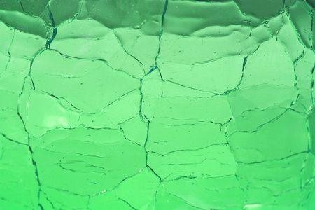 semblance: Crackle Glass sfondo verde