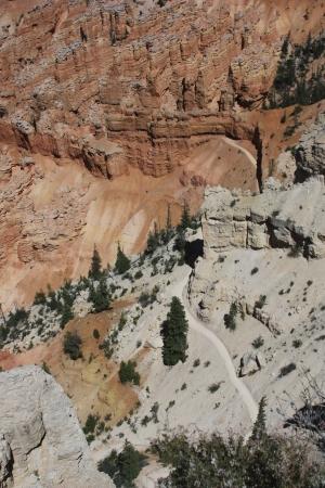 sedimentation: Bryce Trails 5390 Stock Photo