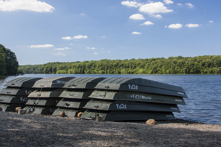 idle: Idle Boats Stock Photo