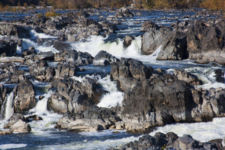 freshwater: Great Falls in Autumn 2