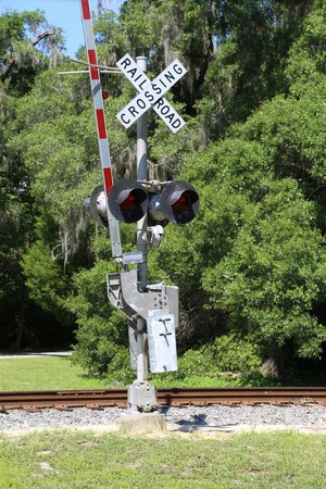 railroad crossing: Railroad Crossing