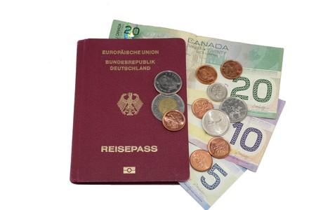 Passeport Dollar canadien