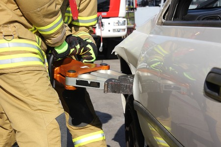 Rescue Equipment Standard-Bild
