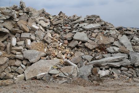 rubble: rubble mountain