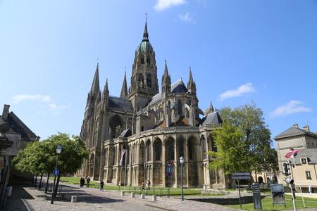 Bayeux cathedral Standard-Bild