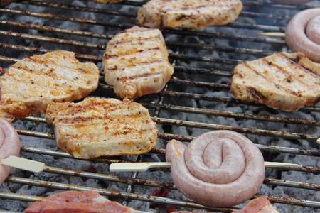 barbecue Standard-Bild